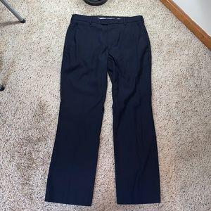 Perry Ellis Portfolio Navy Blue Dress Pants- 32x30